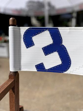 Krzesło ogrodowe - reżyserskie